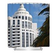 Miami S Capitol Building Shower Curtain