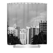 Miami Sky Shower Curtain