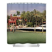 Miami Style Shower Curtain