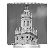 Miami Tower Shower Curtain