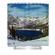 Mica Lake Shower Curtain