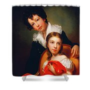Michael Angelo And Emma Clara Peale Shower Curtain