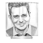 Michael Buble' Shower Curtain
