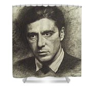 Michael Corleone Shower Curtain