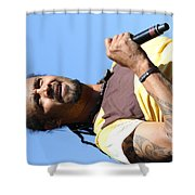 Musician Michael Franti  Shower Curtain