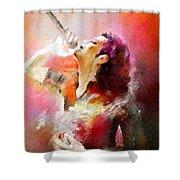 Michael Jackson 05 Shower Curtain