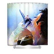 Michael Jackson 06 Shower Curtain
