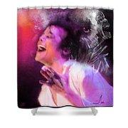 Michael Jackson 11 Shower Curtain