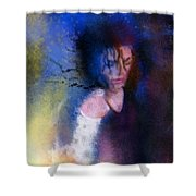 Michael Jackson 16 Shower Curtain