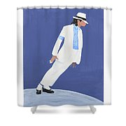 Michael Jackson Smooth Criminal Shower Curtain