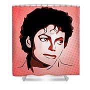 Michael Jackson - Thriller - Pop Art Shower Curtain