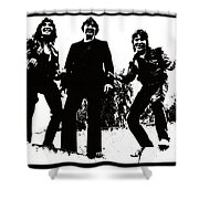 Michael Kegg Party Shower Curtain by Michael Kegg
