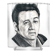 Michael Richards Cosmo Kramer Shower Curtain