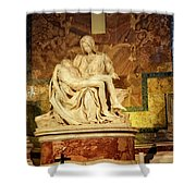 Michelangelo Masterpiece Of A Mother's Love Shower Curtain