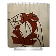 Michelle - Tile Shower Curtain