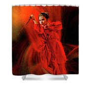 Michelle Ahl To The Rescue Shower Curtain