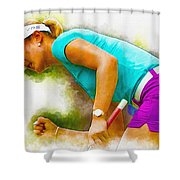 Michelle Wie Finally Won Her First Major Championship Shower Curtain