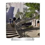 Michigan Avenue On The River Shower Curtain