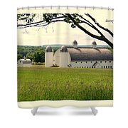 Michigan Barn 1 Shower Curtain