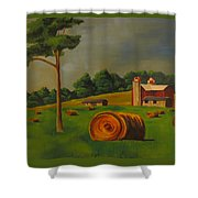 Michigan Farm Shower Curtain