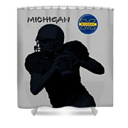 Michigan Football  Shower Curtain