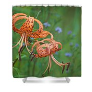 Michigan Lilly Shower Curtain