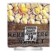Michigan Squash For Sale Shower Curtain