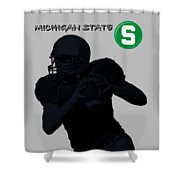 Michigan State Football Shower Curtain
