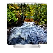 Michigan Waterfall Shower Curtain