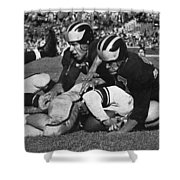 Michigan Wolverines Vintage 1952 Shower Curtain