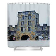 Mickelgate Bar, York Shower Curtain