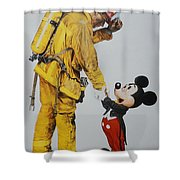Mickey And The Bravest Shower Curtain