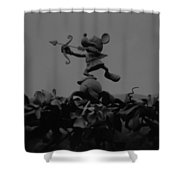 Mickey Mouse In Black And White Shower Curtain
