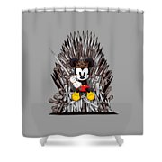 Mickey Thrones Shower Curtain