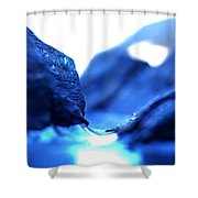 Micro Ice Canyon Shower Curtain
