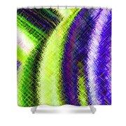 Micro Linear 12 Shower Curtain