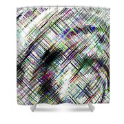 Micro Linear 16 Shower Curtain