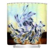 Micro Linear 8 Shower Curtain