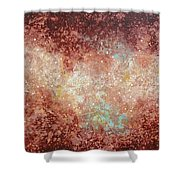 Microcosm Shower Curtain