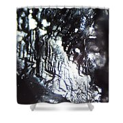 Micrography N.93 Shower Curtain