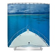 Micronesia, Boat Bow Shower Curtain
