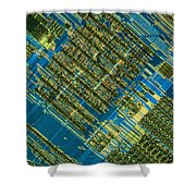 Microprocessor Shower Curtain