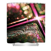 Microskopic Vi - Disco Fever Shower Curtain