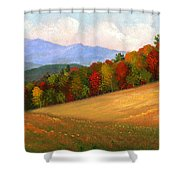 Mid Autumn Shower Curtain