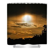 Mid-june Sunset Shower Curtain