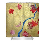 Midas Fall Shower Curtain