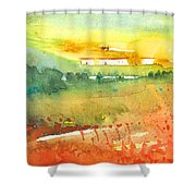 Midday 06 Shower Curtain