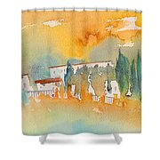 Midday 07 Shower Curtain
