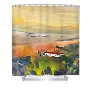 Midday 09 Shower Curtain