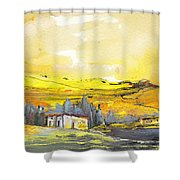 Midday 10 Shower Curtain